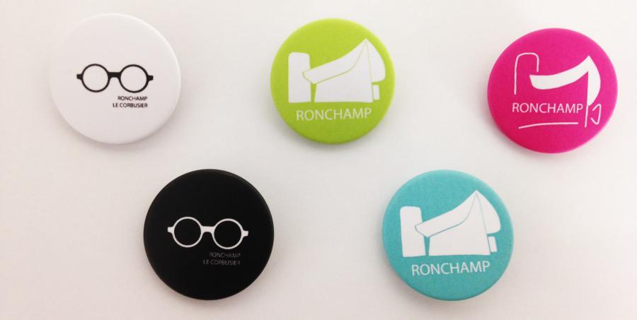 Badges Le Corbusier